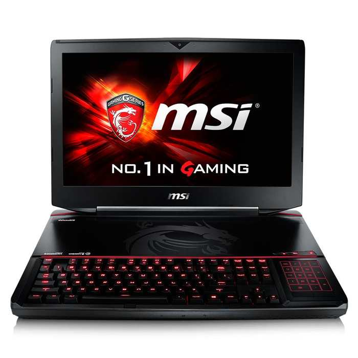 Le MSI GT80S 6QF-249FR Titan SLI est un ordinateur portable qui coute 6 249 euros. #Ilvautmoinsqueca