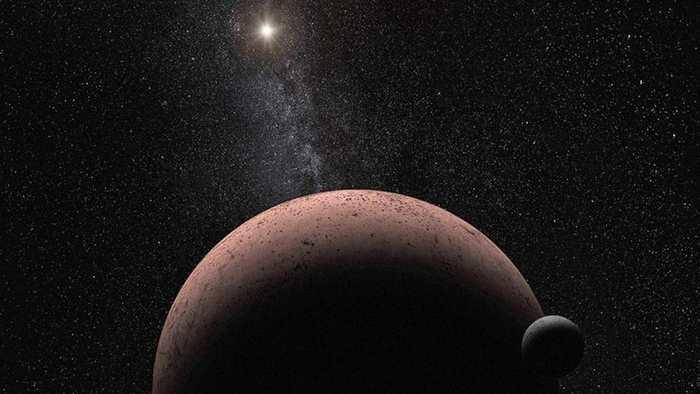 Découverte d'une lune autour de la planète naine Makémaké