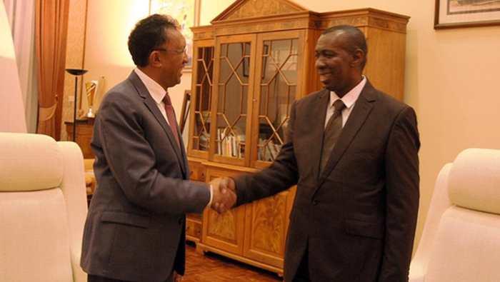 Olivier Mahafaly, nouveau Premier ministre de Madagascar