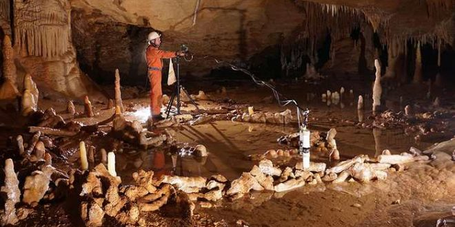 De mystérieux cercles souterrains construits par les Hommes de Neandertal