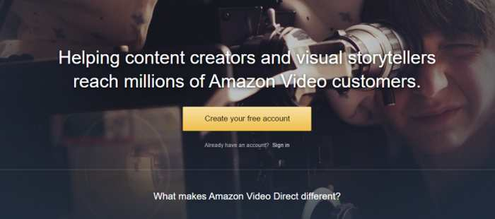 Amazon Video Direct, un digne concurrent de Youtube