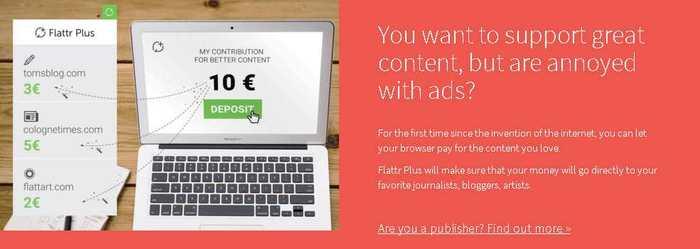 Le fondateur de The Pirate Bay et Adblock Plus annoncent Flattr Plus