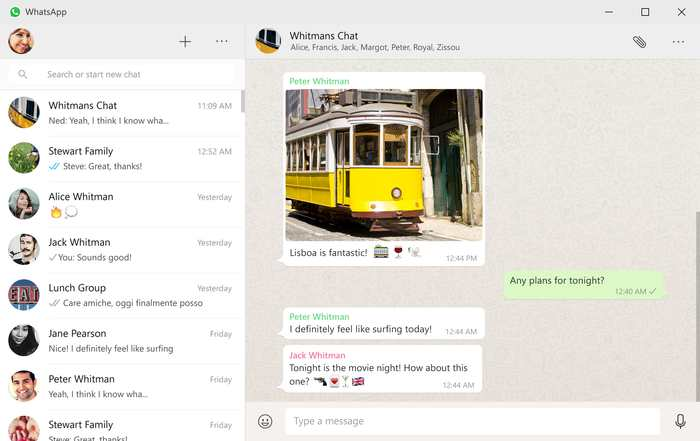 WhatsApp est désormais disponible dans des applications natives de Windows et de Mac
