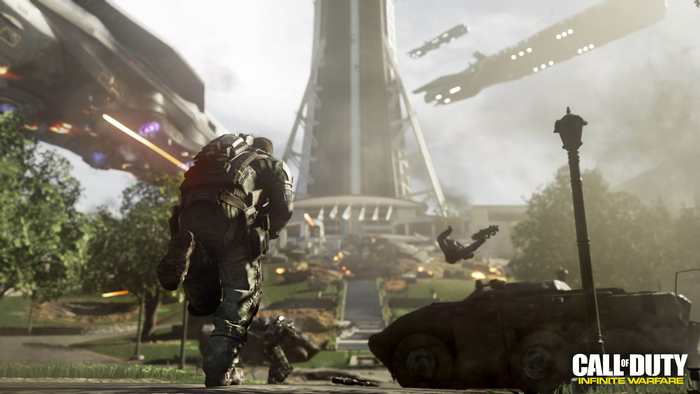 La bande-annonce de Call of Duty : Infinite Warfare fait un flop sur Youtube.