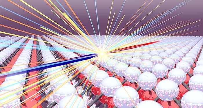 Les physiciens créent un collisionneur de quasi-particules