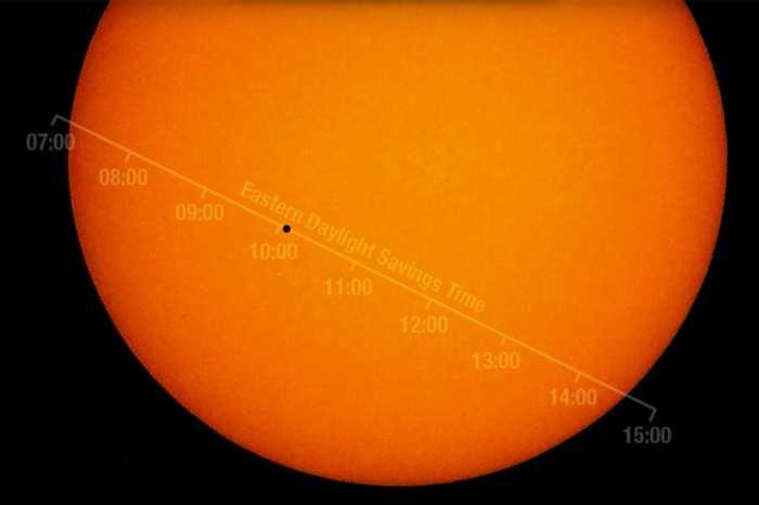 La planète Mercure passera devant le soleil le 9 mai de 11 à 18 heures