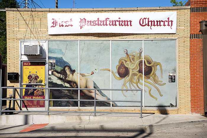 Explosion du pastafarisme dans le monde (église du Monstre en spaghettis volant)