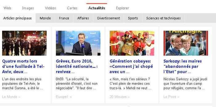 Bing News est désormais ouvert à tous les médias d'actualité