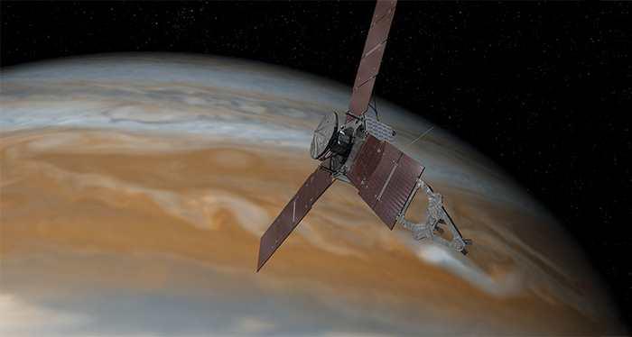 La sonde Juno va atteindre Jupiter le 4 juillet 2016. Une occasion de revenir sur les attentes de cette mission exceptionnelle.
