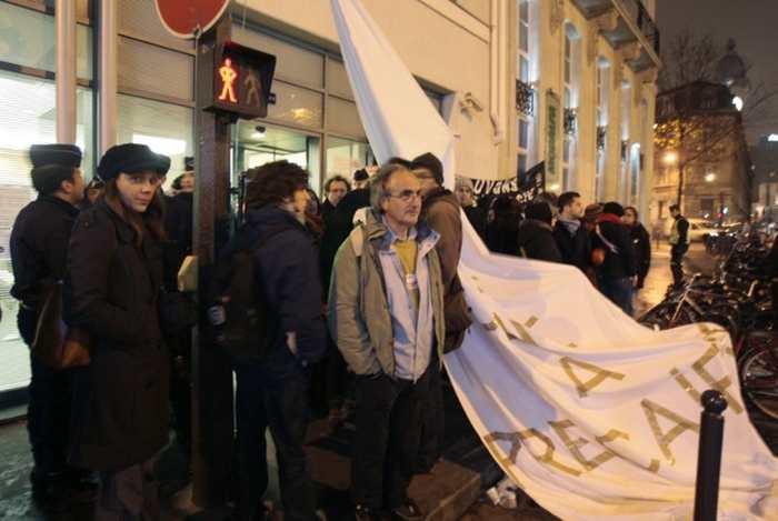 En 2008, des chercheurs avaient manifesté devant le siège de l'ANR pour protester contre le mode de financement de leurs travaux. Francois Guillot/AFP