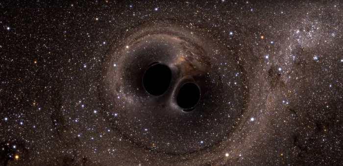 Les ondes gravitationnelles ont été détectées, mais les 2 trous noirs pourraient être des trous noirs primordiaux qui pourraient se comporter comme une forme de matière noire.