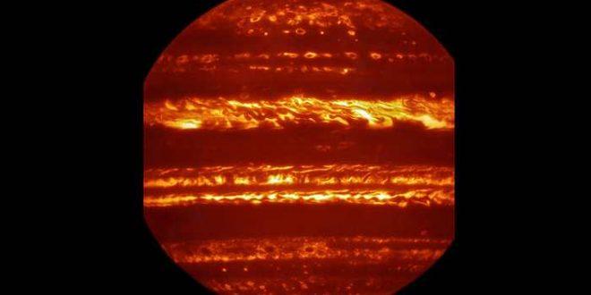 Jupiter en infrarouge