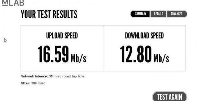 Google va proposer son propre test de vitesse de connexion internet