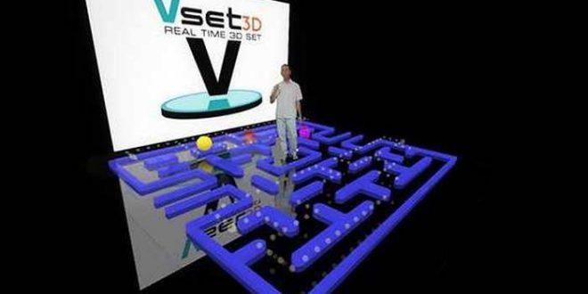 Vset3D, un logiciel de fond vert avec des décors virtuels