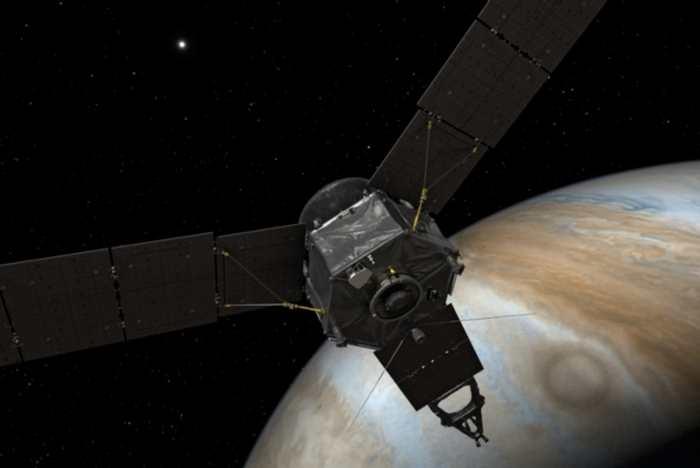 Le 4 juillet 2016 est une date historique à plus d'un titre. On a la fête de l'indépendance américaine, mais pour la première fois, nous avons une sonde qui va étudier Jupiter dans tous ses détails.