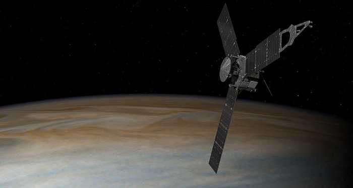 Le succès est total pour l'arrivée de Juno sur Jupiter