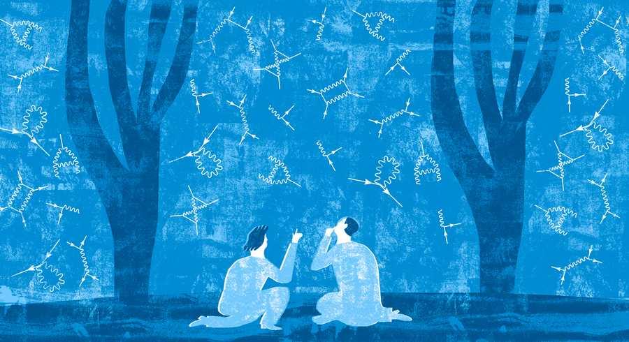 Un dossier sur l'impact des diagrammes de Richard Feyman pour comprendre la structure profonde de l'espace.