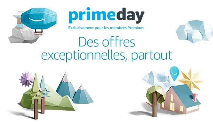 Amazon Prime Day offre des promotions massives sur tous les produits