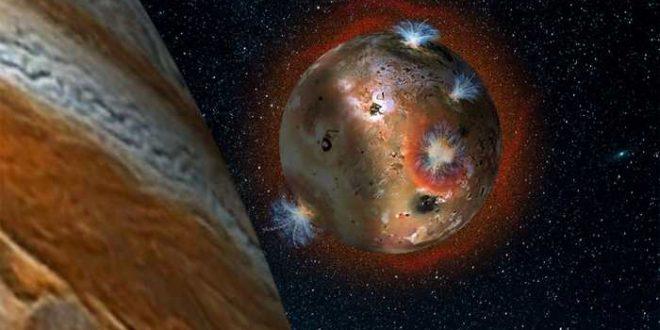L'ombre de Jupiter gèle l'atmosphère de sa lune Io