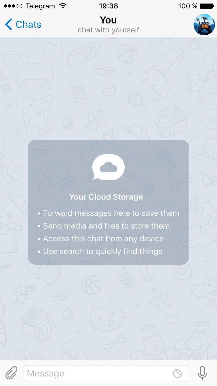 Telegram 3.11 nous propose les Stickers les plus populaires, un espace de stockage personnel et un aperçu des groupes avant de s'inscrire.
