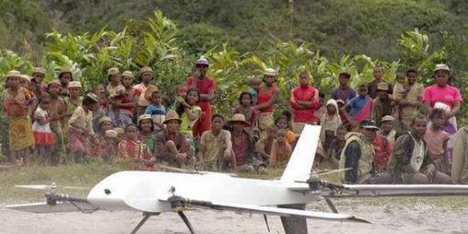 Madagascar : Des drones pour collecter des échantillons médicaux