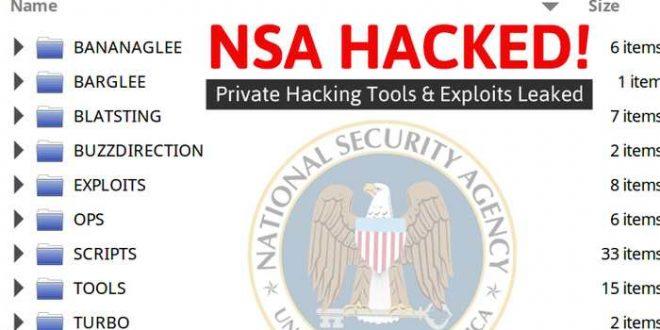 Un piratage possible d'un groupe de Hackers de la NSA