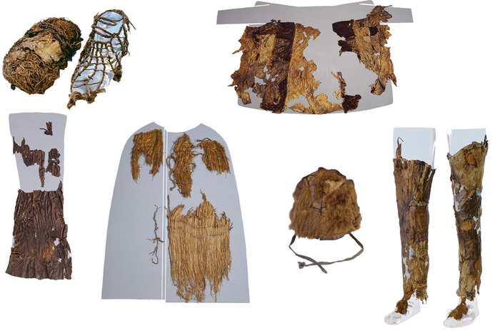 Ötzi, un homme des glaces découvert il y a 20 ans, portait une tenue vestimentaire composée de cuir provenant de 5 espèces différentes.