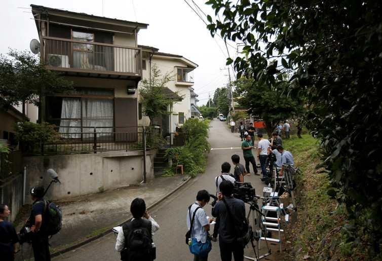 Un établissement pour les handicapés à coté de celle de Sagamihara dans la préfecture de Kanagawa au Japon