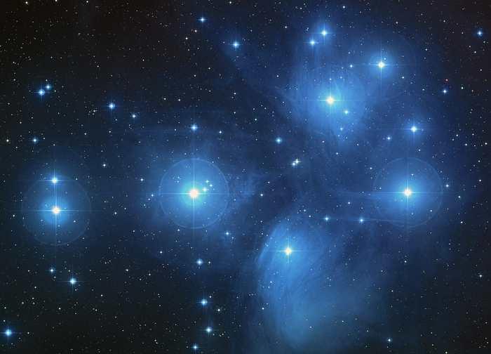 L'Amas des Pléiades, Gaia va nous donner sa distance exacte par rapport au soleil