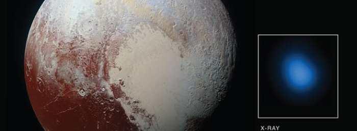 Des observations avec le télescope de rayon X Chandra montrent que Pluton émet des rayons X et cela soulève des questions sur le comportement des corps célestes dans la ceinture de Kuiper.