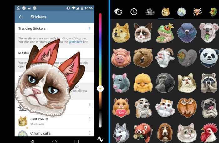 Telegram 3.12 est disponible avec de nombreuses nouveautés. Les masques pour la retouche de photo, un nouvel éditeur d'images et on peut désormais créer ses propres GIF.
