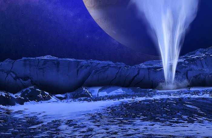 Europa, l'une des lunes de Jupiter, possède des panaches d'eau qui suggèrent la présence d'un océan selon une découverte par Hubble. Une prochaine sonde pour Europa pourrait même collecter une partie de cette eau pour chercher des formes de vie.