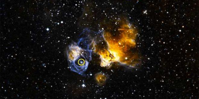 Record de luminosité pour un système stellaire binaire