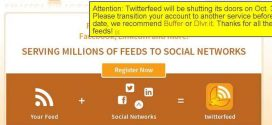 Twitterfeed ferme ses portes