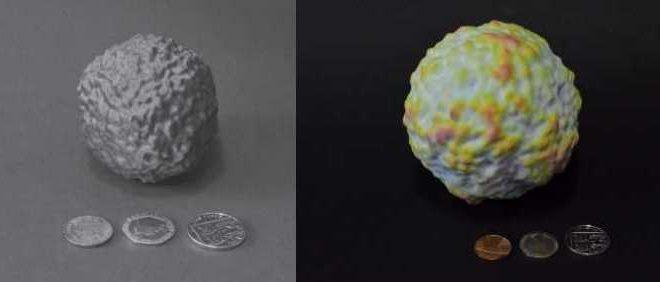 Le fond diffus cosmologique imprimé en 3D