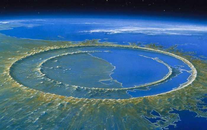 Une recherche démontre comment l'impact d'un astéroïde forme la création de cratères gigantesques.