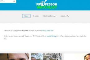 Un groupuscule conservateur vient de lancer un site appelé Professeur Watchlist. L'objectif ? Dénoncer les professeurs qui promeuvent les idées de gauches et anti-américaines. Bienvenue en Amérique !