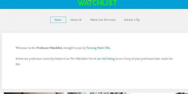 «Professor Watchlist», un site pour dénoncer les professeurs gauchistes et anti-américains