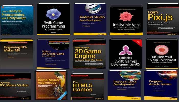 Le Humble Bundle Code Your Own Games propose une bonne sélection de livres dédiés à la création de jeux vidéos. Si vous voulez vous lancer dans ce domaine, alors quelques dollars suffisent pour avoir des bons livres.