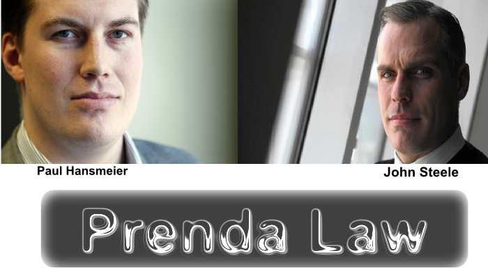 On a enfin arrêté Paul Hansmeier et John Steele qui ont créé une pratique d'extorsion de masse via leur firme Prenda Law. Hansmeier et Steel utilisaient les films pornographiques pour faire du chantage à ceux qui les téléchargeaient sur des sites de partage.