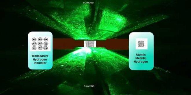 Les scientifiques ont créé de l'hydrogène métallique