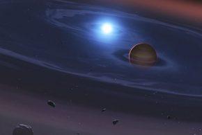 Les chercheurs rapportent la première preuve de débris planétaires autour de 2 soleils, soit un système comme Tatooine dans le film Star Wars.