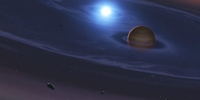 Preuve de la formation d'une planète rocheuse autour d'un système similaire à Tatooine (Star Wars)