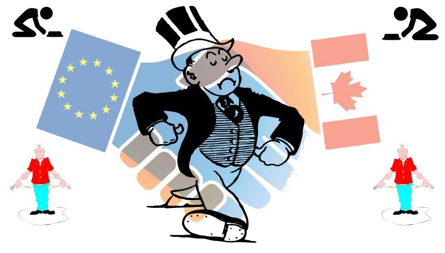 Le Parlement européen vient d'approuver le CETA (Comprehensive Economic and Trade Agreement) qui est un traité de libre-échange entre le Canada et l'Europe. Mais une revue des études, qui ont été citées pendant les négociations, montre que ces études utilisent des projections irréalistes pour exacerber les effets positifs. Les effets réels du CETA incluent des pertes d'emploi et une inefficacité économique pour les 2 partenaires.