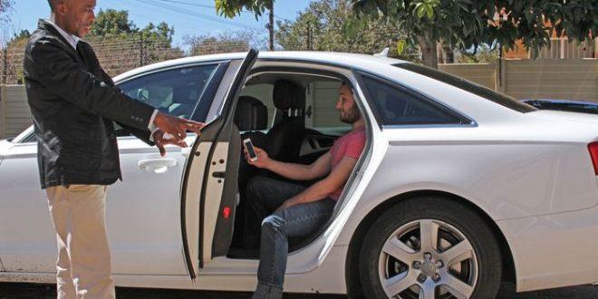 Afrique du Sud : Un oeil Uber noir