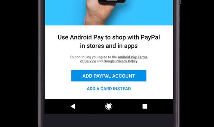Android Pay a annoncé qu'il supporte désormais Paypal aux États-Unis. Un boost nécessaire puisqu'Android Pay a dû mal à décoller.
