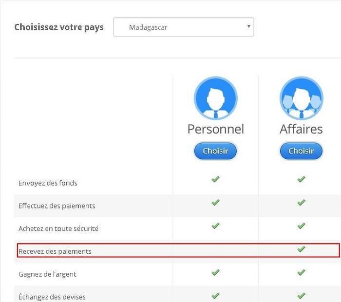 Si vous cherchez un paiement en ligne à Madagascar, vous devez Payza qui propose des transactions très élevées.