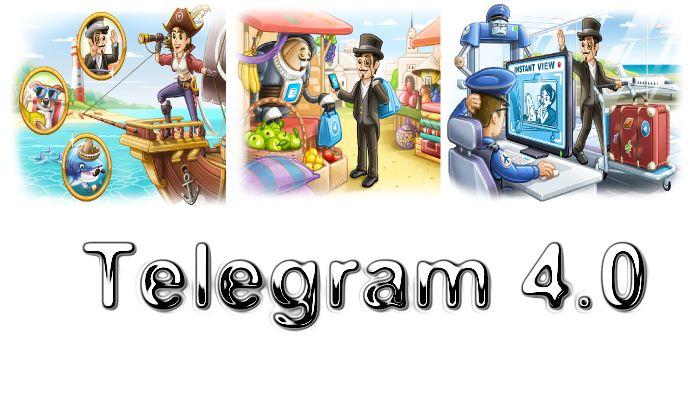 Telegram 4.0 est sans doute l'une des plus grosses mises à jour de la messagerie. Au menu, l'envoi de messages vidéos, le paiement par bot et l'Instant View pour tout le monde.