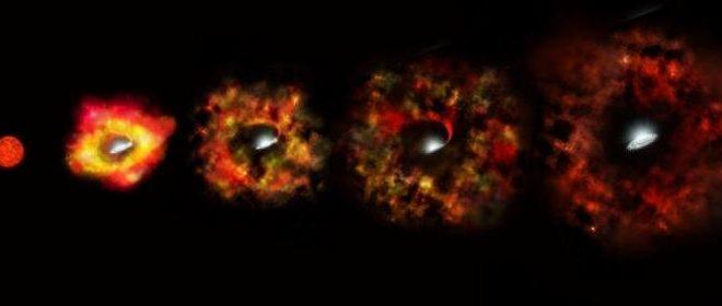 La grande étoile qui n'a pas pu devenir une supernova