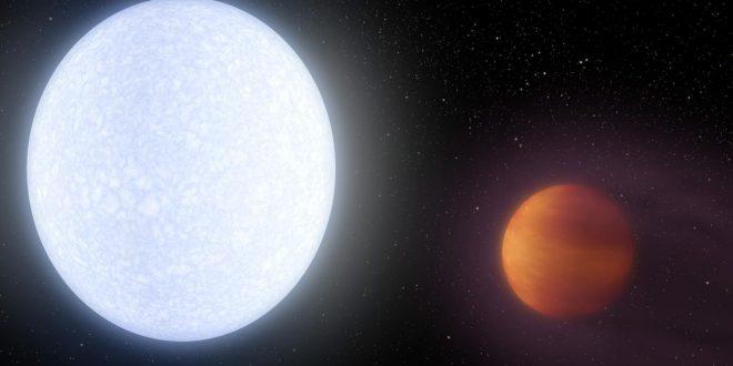 KELT-9b, une exoplanète plus chaude qu'une étoile
